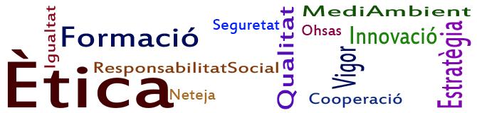 Formació, seguretat, neteja, qualitat, mediambient, ohsas, responsabilitat social